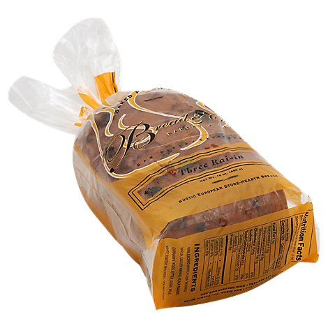 Bread & Cie Three Raisin Bread - 16 Oz