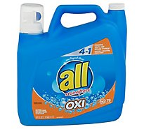 all Laundry Detergent Liquid With OXI Stain Removers And Whiteners 79 Loads - 141 Fl. Oz.