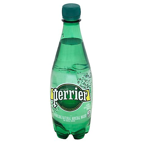 Perrier Mineral Water Sparkling Natural - 16.9 Fl. Oz.