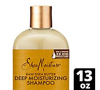 SheaMoisture Shampoo Retention Raw Shea Butter Moisture - 13 Oz