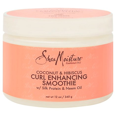 SheaMoisture Coconut & Hibiscus Curl Enhancing Smoothie - 12 Oz