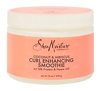 SheaMoisture Curl Enhancing Cream Coconut & Hibiscus - 12 Oz