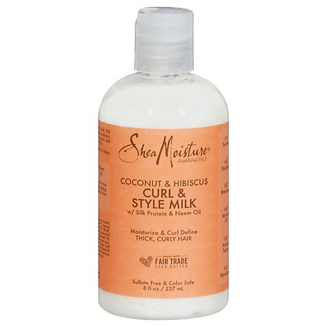 SheaMoisture Curl & Style Milk Coconut & Hibiscus - 8 Oz
