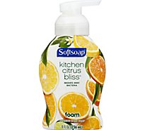 Softsoap Hand Soap Foaming Kitchen Citrus Bliss - 8 Fl. Oz.