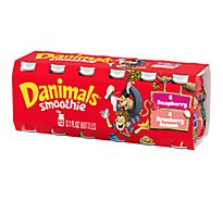 Danimals Smoothies Raspberry & Strawberry Banana Variety Pack - 12-3.1 Fl. Oz.