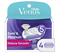 Gillette Venus Swirl Cartridges 5 Blades - 4 Count