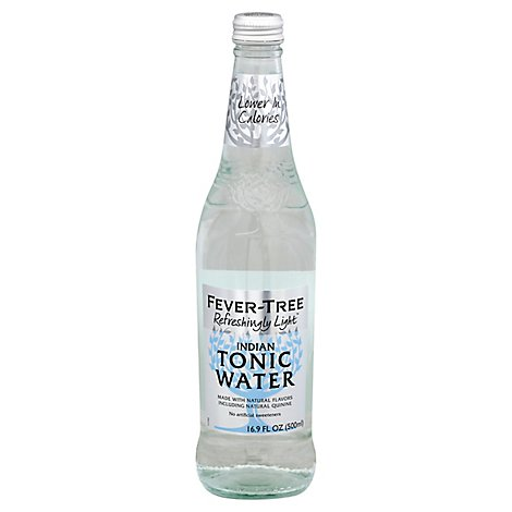 Fever-Tree Tonic Water Indian Refreshingly Light - 16.9 Fl. Oz.