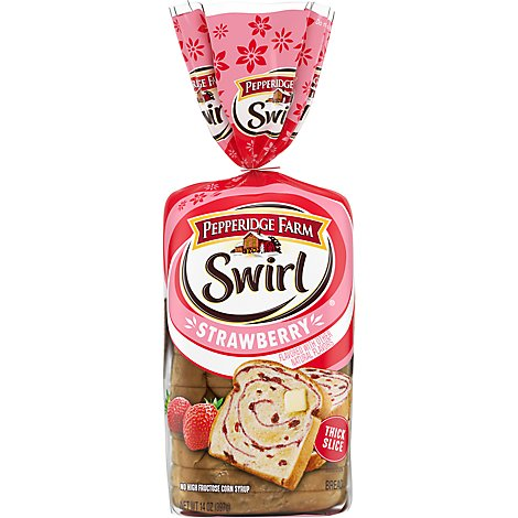 Pepperidge Farm Swirl Bread Strawberry - 14 Oz