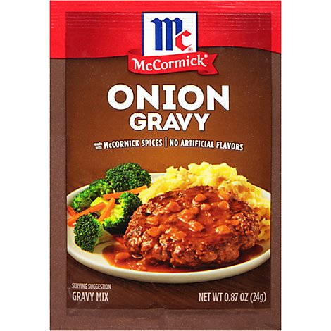 McCormick Gravy Mix Onion - 0.87 Oz