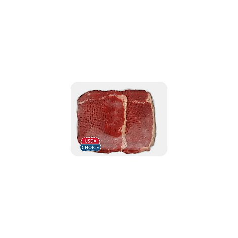 Open Nature Beef Grass Fed Angus Bottom Round Steak Tenderized - 0.50 LB