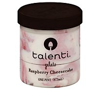 Talenti Gelato Raspberry Cheesecake - 1 Pint