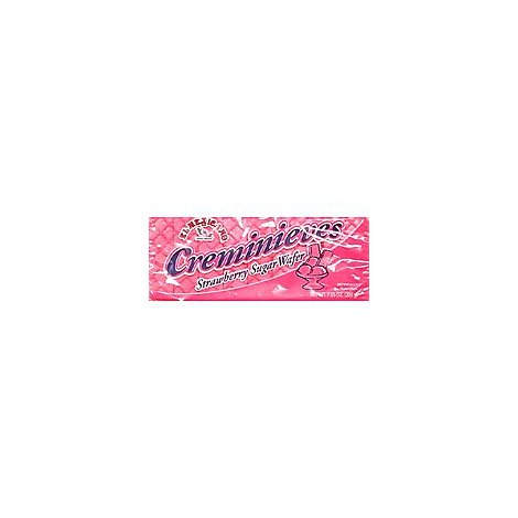 El Mexicano Creminieves Wafers Strawberry Pack - 7.5 Oz