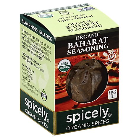 Spicely Organic Spices Seasoning Baharat Ecobox - 0.4 Oz