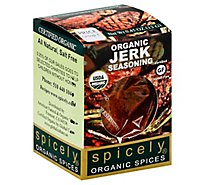 Spicely Organic Spices Seasoning Jerk Ecobox - 0.45 Oz