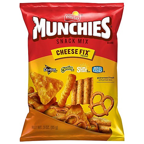 MUNCHIES Snack Mix Cheese Fix Flavored - 3 Oz