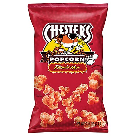 CHESTERS Popcorn Flamin Hot - 2.625 Oz