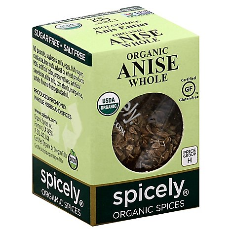 Spicely Organic Anise Whole - 0.3 Oz