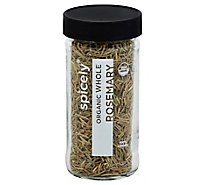 Spicely Organic Spices Rosemary Whole Glass Jar - 0.5 Oz