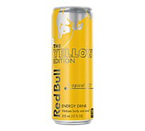 Red Bull Energy Drink Tropical - 12 Fl. Oz.