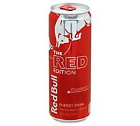 Red Bull Energy Drink The Red Edition Cranberry - 12 Fl. Oz.
