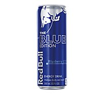 Red Bull Energy Drink The Blue Edition Blueberry - 12 Fl. Oz.