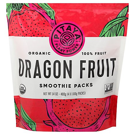 Pitaya Organic Dragon Fruit Smoothie Packs - 14 Oz