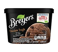 Breyers Ice Cream Original Chocolate Truffle - 48 Oz