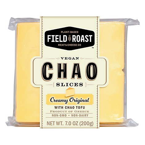 Field Roast Creamy Original Chao Slices - 7 Oz