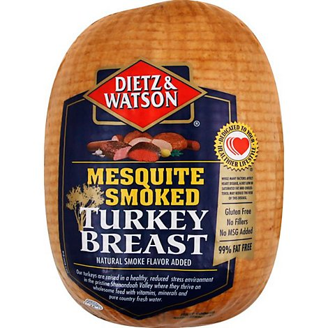 Dietz & Watson Turkey Breast Mesquite Smoked - 0.50 LB