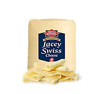 Dietz & Watson Cheese Lacey Swiss - 0.50 LB