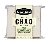 Field Roast Chao Slices Coconut Herb - 7 Oz