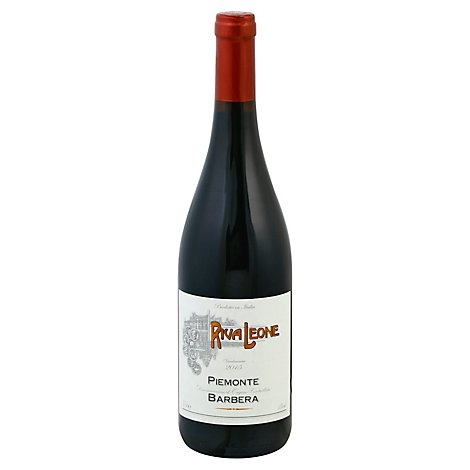 Rivaleone Barbera Wine - 750 Ml