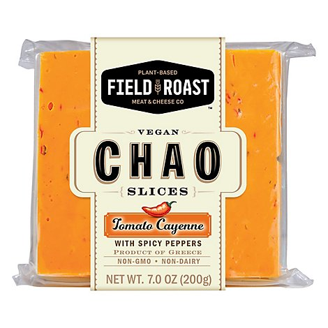 Field Roast Chao Slices Tomato Cayenne - 7 Oz