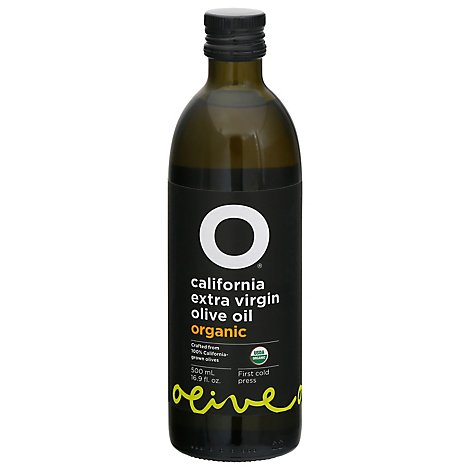 O Olive Oil & Vinegar Olive Oil Organic Califonia Extra Virgin Unfiltered - 16.9 Fl. Oz.