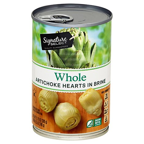 Signature SELECT Artichokes Whole - 13.75 Oz