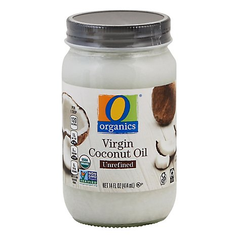O Organics Organic Coconut Oil Virgin Unrefined - 14 Fl. Oz.