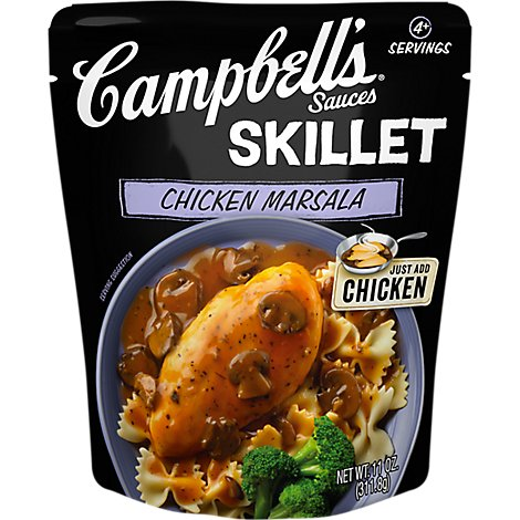 Campbells Skillet Sauces Chicken Marsala - 11 Oz