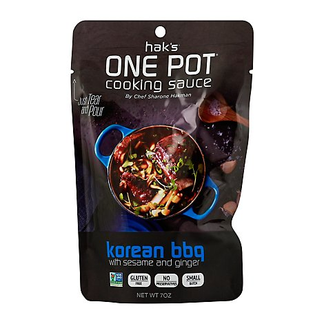 Haks One Pot Cooking Sauce Korean BBQ Pouch - 7 Oz