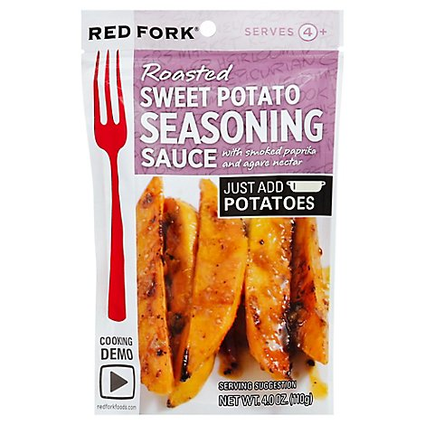 Red Fork Seasoning Sauce Roasted Sweet Potato Pouch - 4 Oz