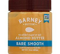 Barney Butter Almond Butter Bare Smooth - 10 Oz