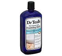 Dr Teals Foaming Bath Detox - 34 Oz