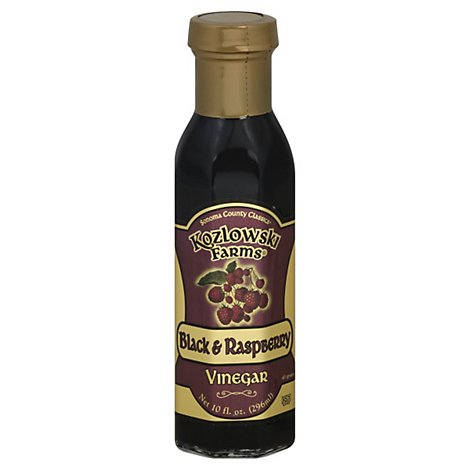 Kozlowski Farms Vinegar Black & Raspberry - 10 Oz