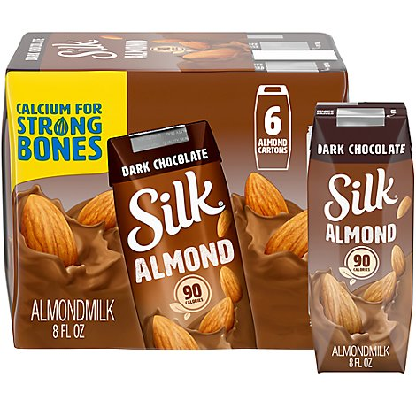 Silk Almondmilk Dark Chocolate - 6-8 Fl. Oz.