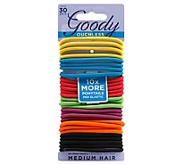 Goody Elastics Ouchless Thick 4mm Candy Coated - 30 Count