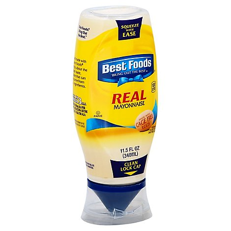 Best Foods Mayonnaise Real Squeeze Bottle - 11.5 Oz