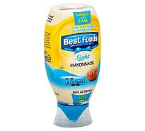Best Foods Mayonnaise Light Squeeze Bottle - 20 Oz