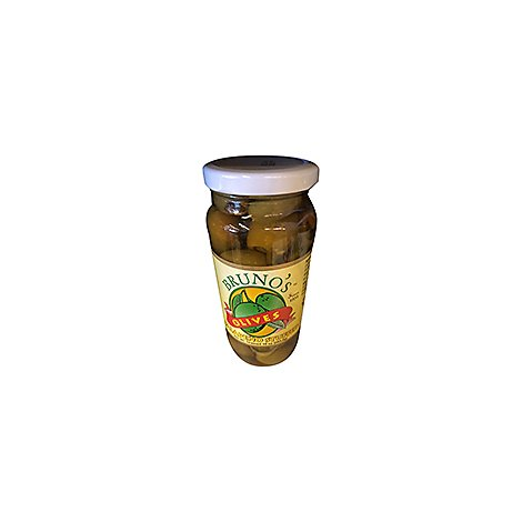Brunos Olives Stuffed Jalapeno - 10 Oz