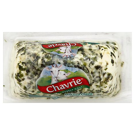 Chavrie With Cucumber & Chive Log - 4 Oz