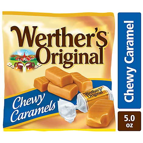 Werthers Original Caramel Chewy - 5 Oz