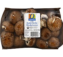 O Organics Organic Mushrooms Baby Bella - 16 Oz